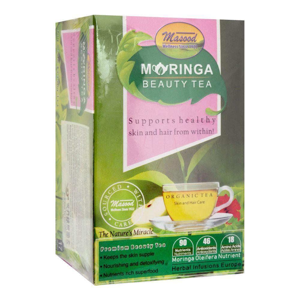 Masood Moringa Beauty Tea, 17 Tea Bags