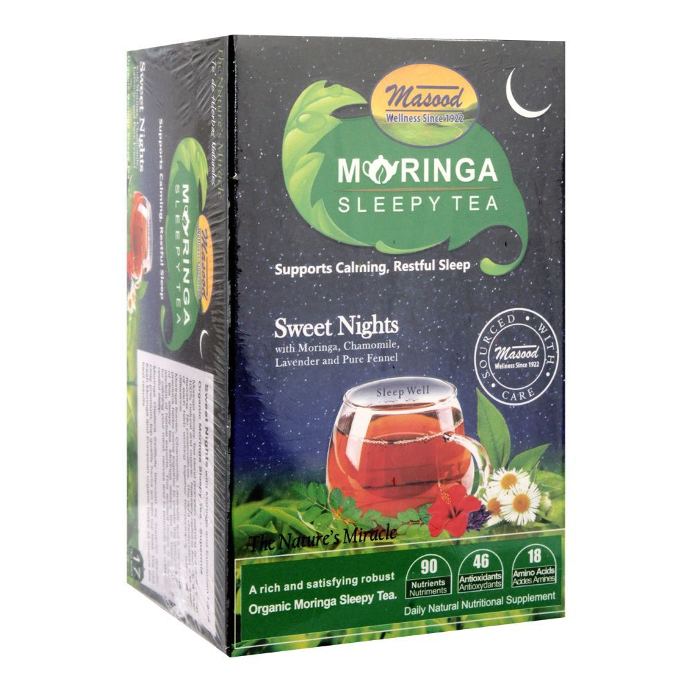 Masood Moringa Sleepy Tea, 17 Tea Bags