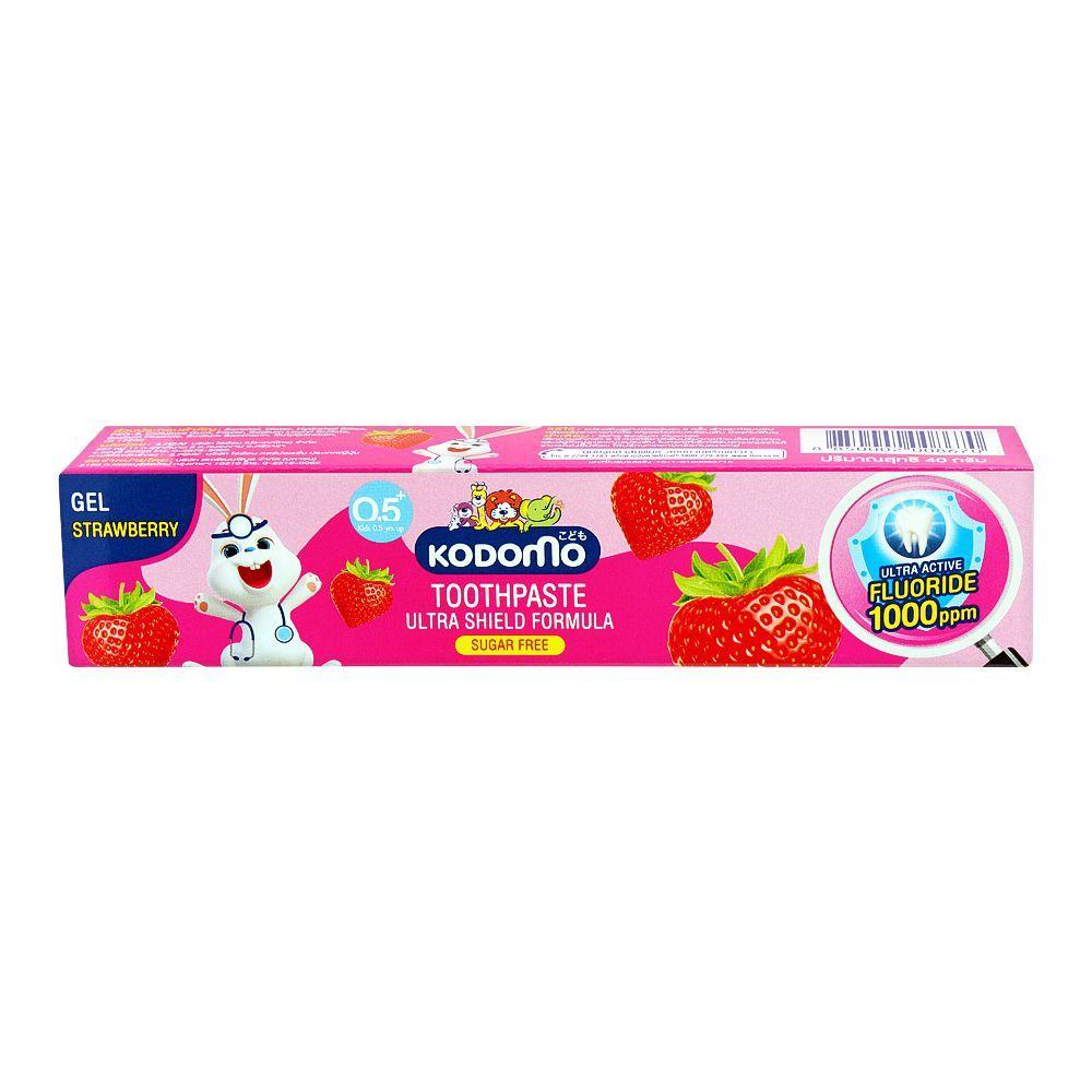 Kodomo Ultra Shield Formula Gel Toothpaste, Strawberry 40g