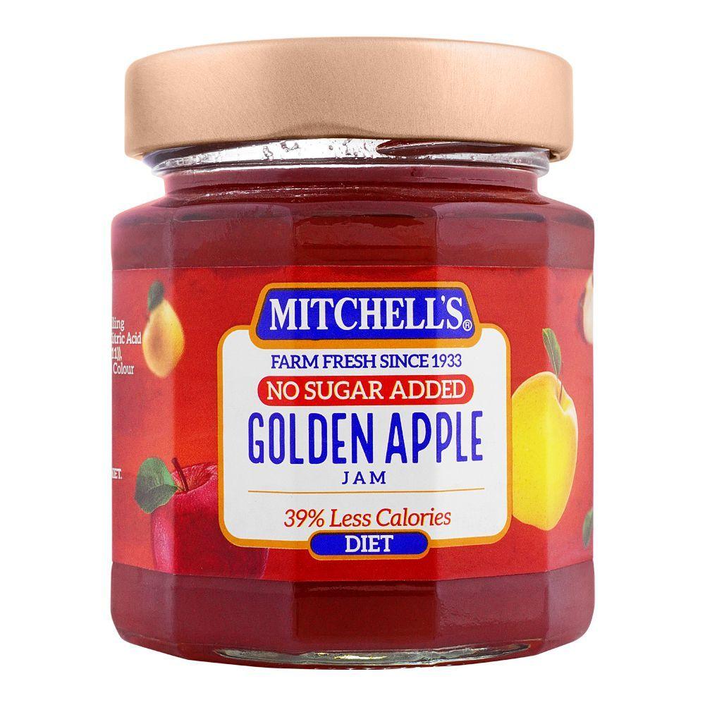 Mitchell's Golden Apple Diet Jam, 300g