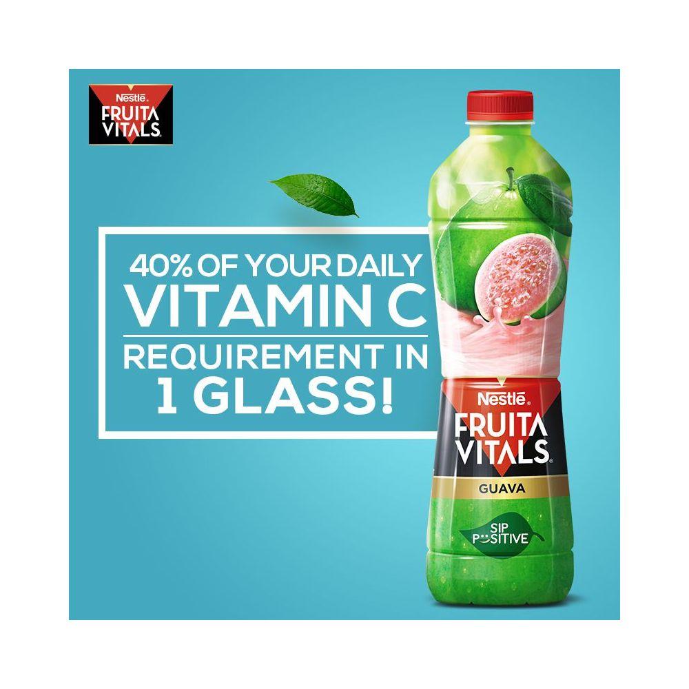 Nestle Fruita Vitals Guava Fruit Nectar 1 Liter