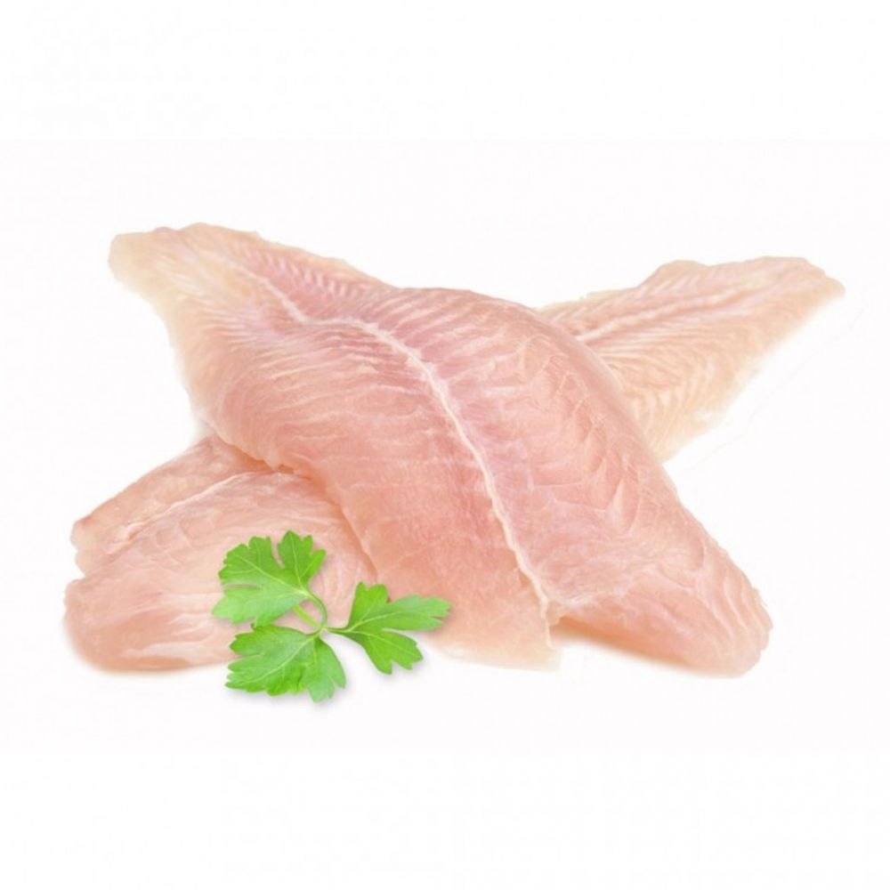 Zahrat Al Bahar Frozen White Fish Fillets, Trimmed, 10kg