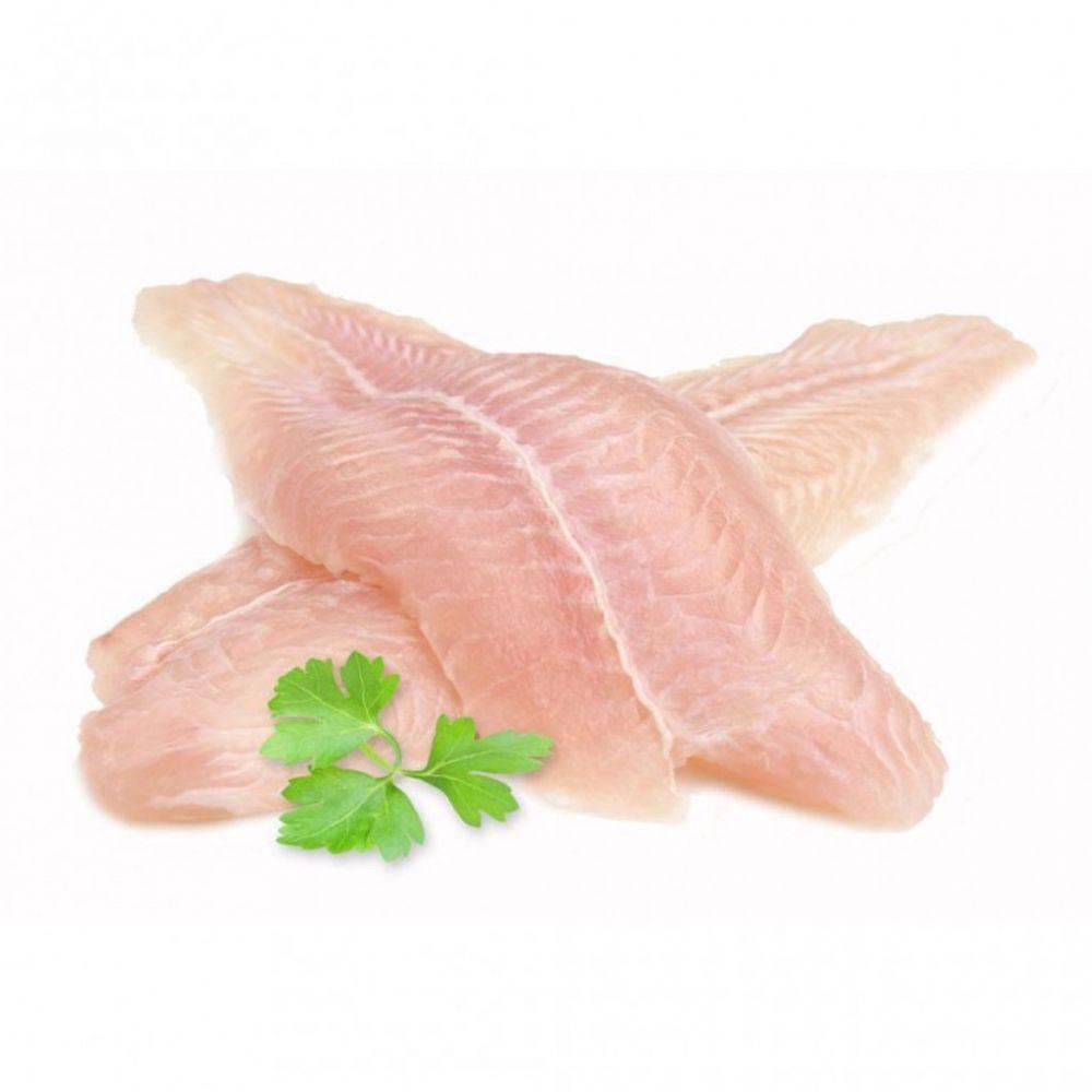 Siblou Frozen White Fish Fillets, 10Kg