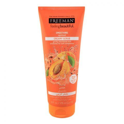 Freeman Feeling Beautiful Creamy Scrub, Smoothing Apricot, All Skin Types, 175ml