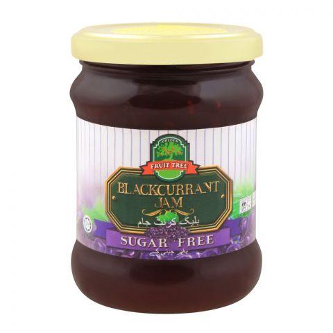 Fruit Tree Black Currant Jam, Sugar Free, 270g