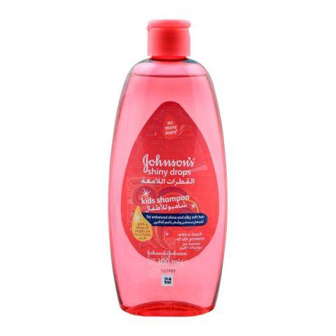 Johnson's Shiny Drops Kids Shampoo, 300ml