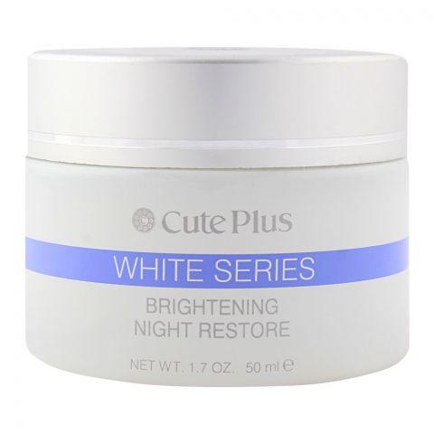 Cute Plus White Series Brightening Night Restore 50ml