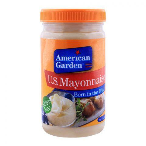 American Garden U.S. Mayonnaise, Gluten Free, 8oz/237ml