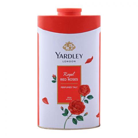 Yardley Royal Red Roses Perfumed Talcum Powder, 250g