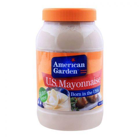 American Garden U.S. Mayonnaise, Gluten Free, 30oz/887ml