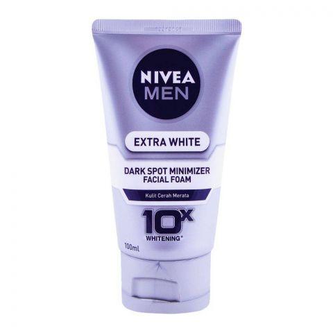 Nivea Men Extra White Dark Spot Minimizer Facial Foam 100ml