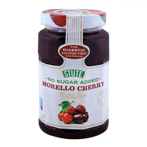 Stute No Sugar Added Morello Cherry Jam 430g