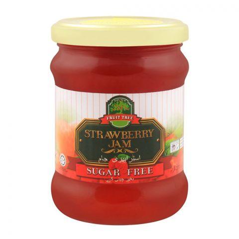 Fruit Tree Strawberry Jam, Sugar Free, 270g