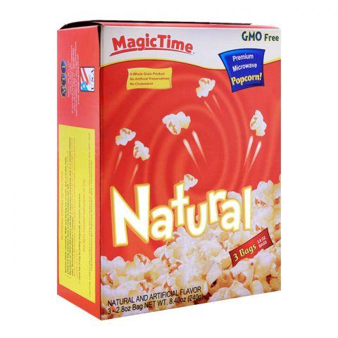 MagicTime Natural Popcorn 240g