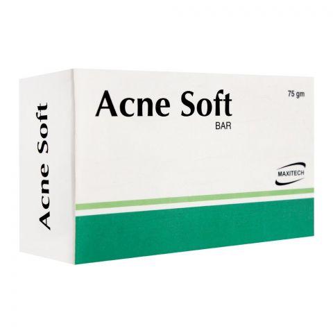 Maxitech Acne Soft Soap Bar, 75g