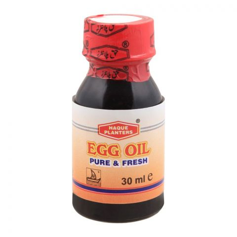 Haque Planters Egg Oil, 30ml