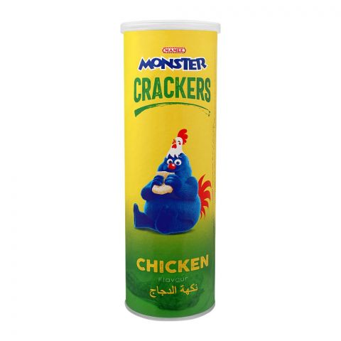Mamee Monster Crackers, Chicken Flavour, 50g