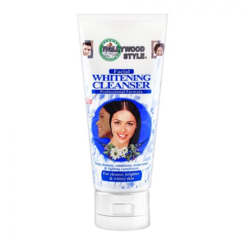 Hollywood Style Facial Whitening Cleanser 150ml