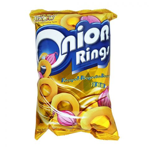 Miaow Miaow Onion Rings, 60g