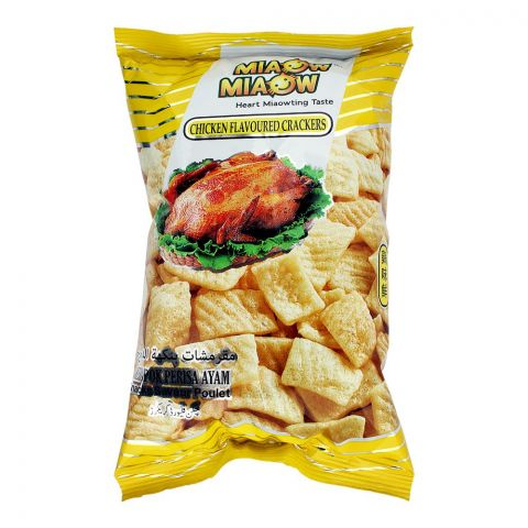 Miaow Miaow Chicken Flavoured Crackers, 60g