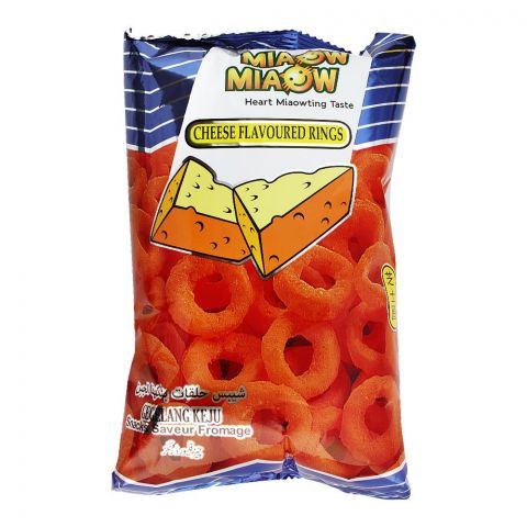 Miaow Miaow Cheese Flavoured Rings, 60g