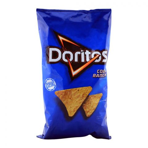 Doritos Cool Ranch Tortilla Chips (Imported), 198.4g 7oz