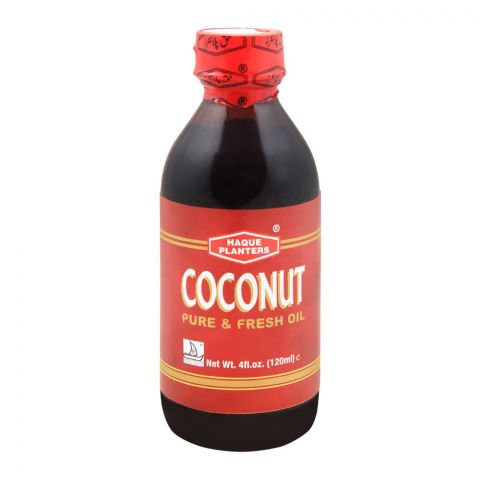 Haque Planters Coconut Oil, 130ml