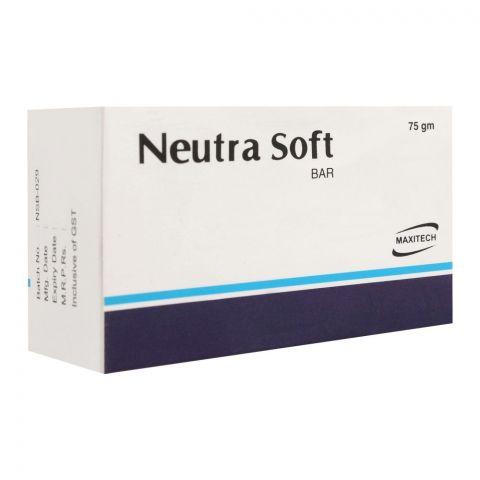 Maxitech Neutra Soft Soap Bar, 75g