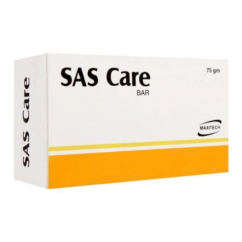 Maxitech SAS Care Soap Bar, 75g