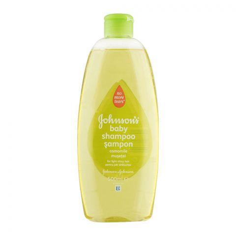 Johnson's Camomile Baby Shampoo, 500ml, Italy
