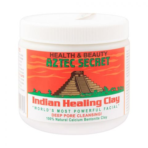 Aztec Secret Indian Healing Clay, Deep Pore Cleansing, 1Lb
