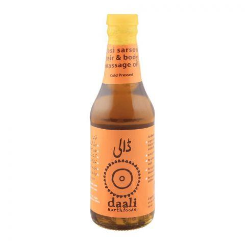 Daali Desi Sarson Oil, Cold Pressed, 250ml