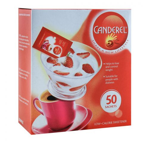Canderel Sweetener, 50 Sachets
