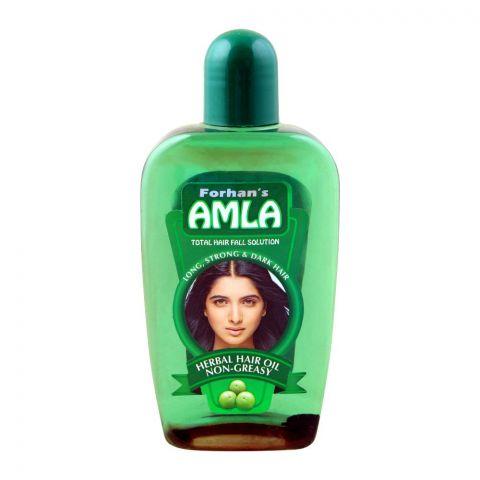 Forhan's Amla Herbal Hair Oil, Non-Greasy, 200ml