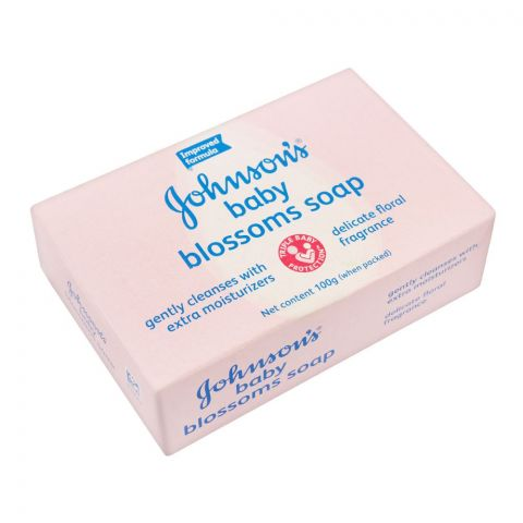 Johnson's Baby Blossoms Soap, 100g