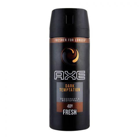 Axe Dark Temptation 48H Fresh Deodorant Spray For Men, 150ml