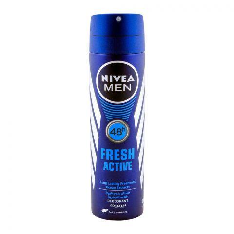 Nivea Men 48H Fresh Active Deodorant Spray 150ml