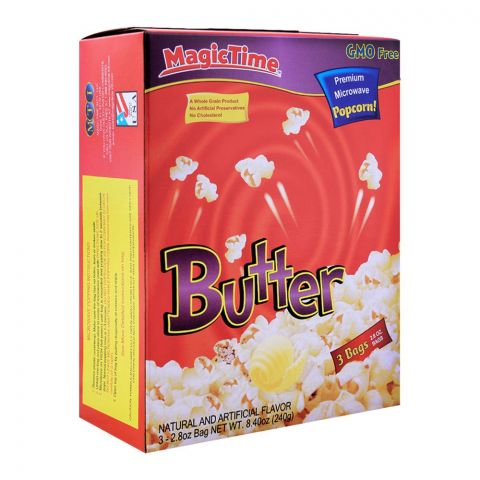 MagicTime Butter Popcorn 240g