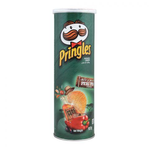 Pringles Potato Crisps, Peri Peri Flavor, 107g