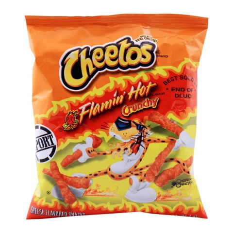 Cheetos Flamin Hot Crunchy (Imported), 35.4g