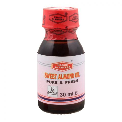 Haque Planters Sweet Almond Oil, 30ml