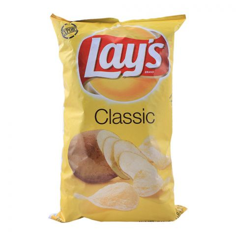 Lay's Classic Potato Chips (Imported), 184.2g/6.5oz