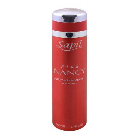 Sapil Pink Nancy Women Deodorant Body Spray, 200ml
