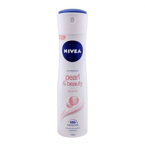 Nivea 48H Pearl & Beauty Anti-Perspirant Deodorant Spray 150ml