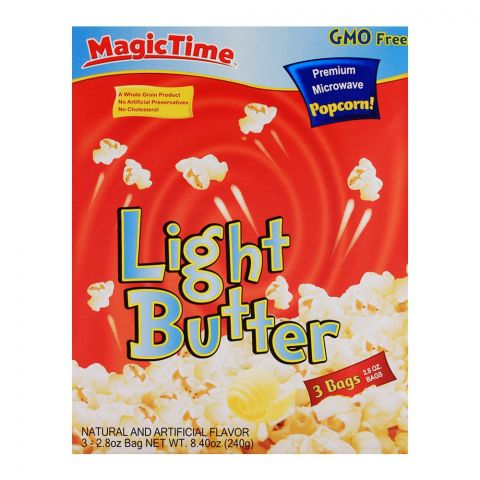 Magic Time Light Butter Pop Corn 240gm