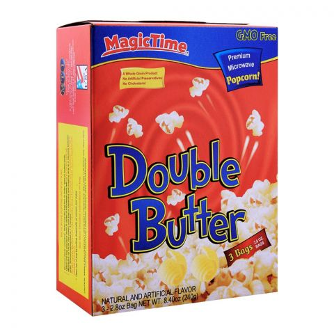 MagicTime Double Butter Popcorn 240g