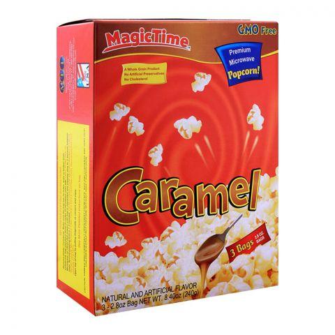 MagicTime Caramel Popcorn 240g