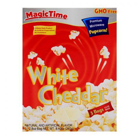 Magic Time White Cheddar Pop Corn 240gm