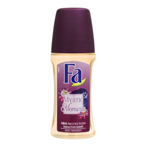 Fa 48H Protection Mystic Moments Seductive Scent Roll-On Deodorant, For Women, 50ml