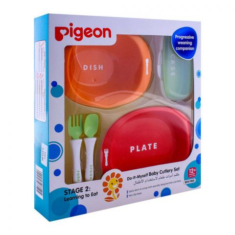 Pigeon Do-It-Myself Baby Cutlery Stage 2 Set